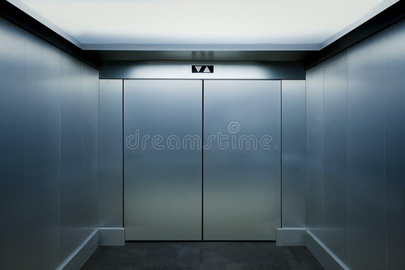 Nowożytny windy wnętrze obrazy stock