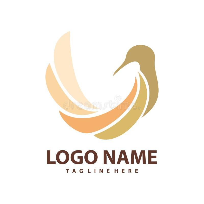 Nowożytny zwierzęcy logo i ikona royalty ilustracja