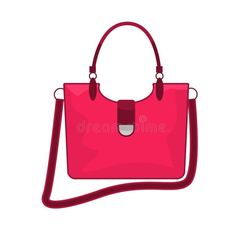 Nowo?ytna i modna kobiety torby ikona r?wnie? zwr?ci? corel ilustracji wektora ilustracja wektor