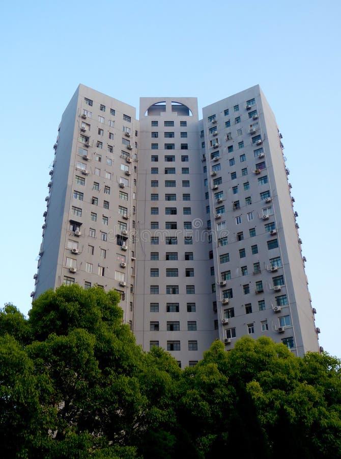 Download Nowożytna Lokalowa Budowa W Szanghaj Zdjęcie Stock - Obraz złożonej z asia, budynek: 53785550