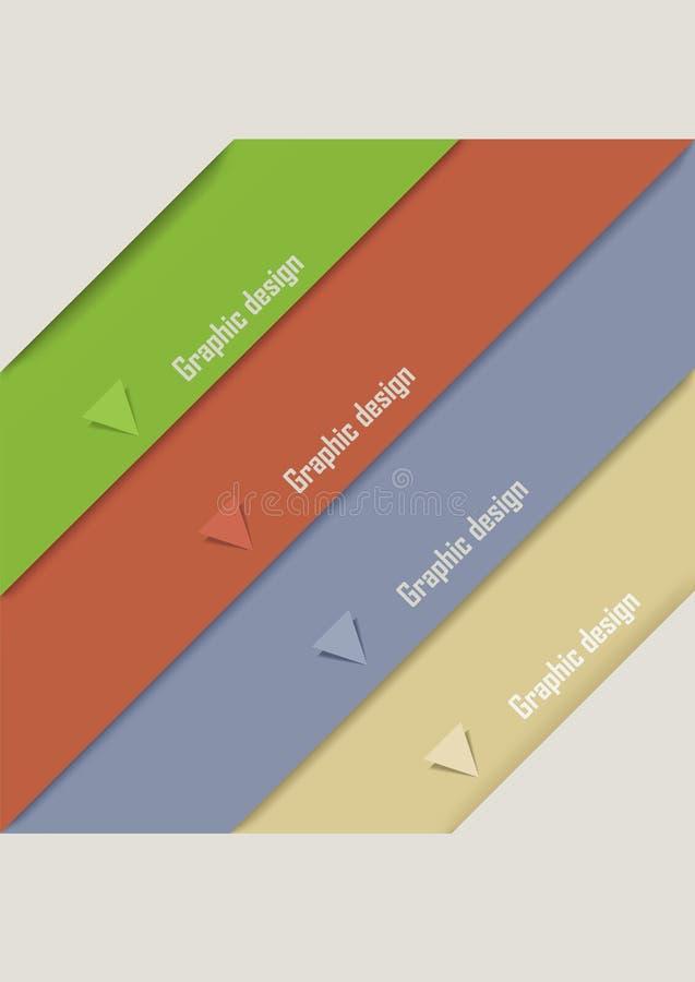 Download Nowożytnego Projekta Szablon Ilustracja Wektor - Ilustracja złożonej z dekoracje, horyzontalny: 28974543