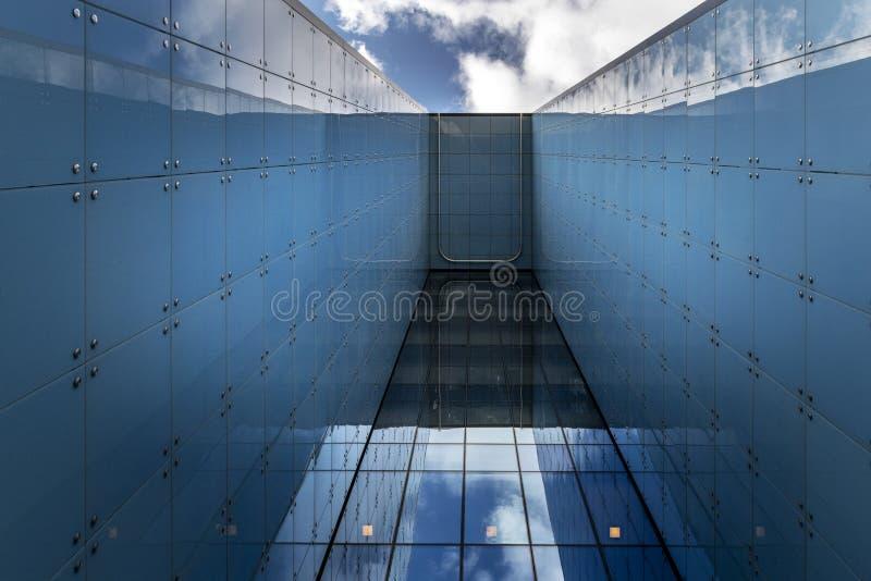 nowoczesna architektura abstrakcyjna zdjęcia stock