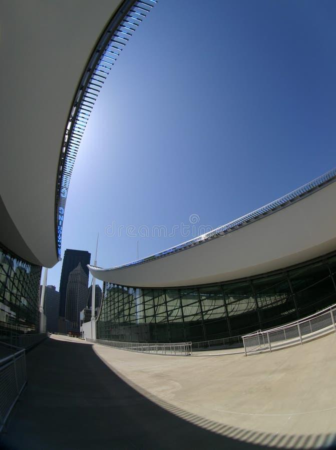 nowoczesna architektura abstrakcyjna zdjęcie royalty free