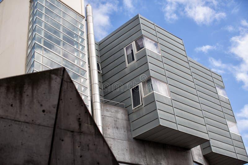nowoczesna architektura abstrakcyjna fotografia royalty free