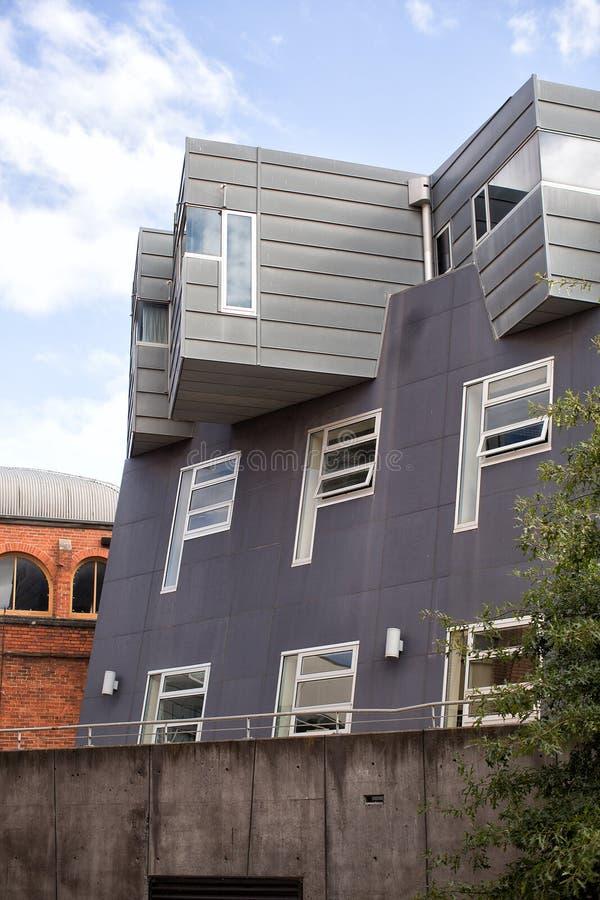 nowoczesna architektura abstrakcyjna obrazy stock