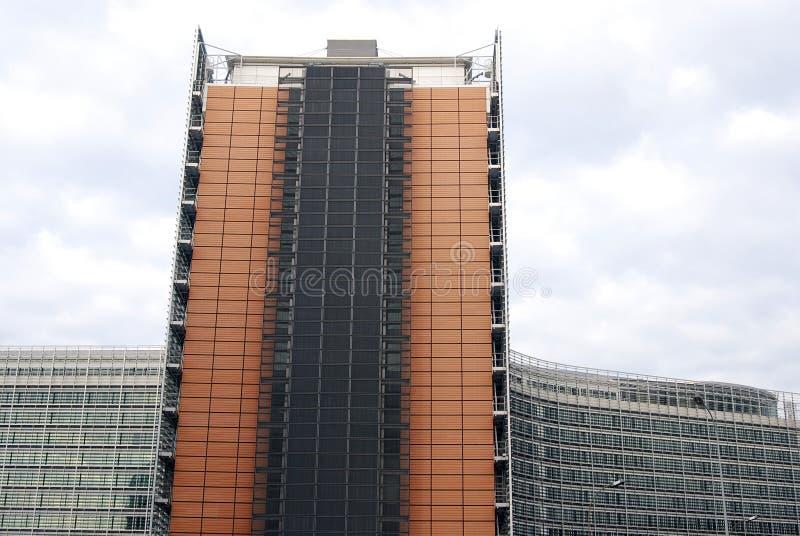 nowoczesna architektura Brukseli obrazy royalty free
