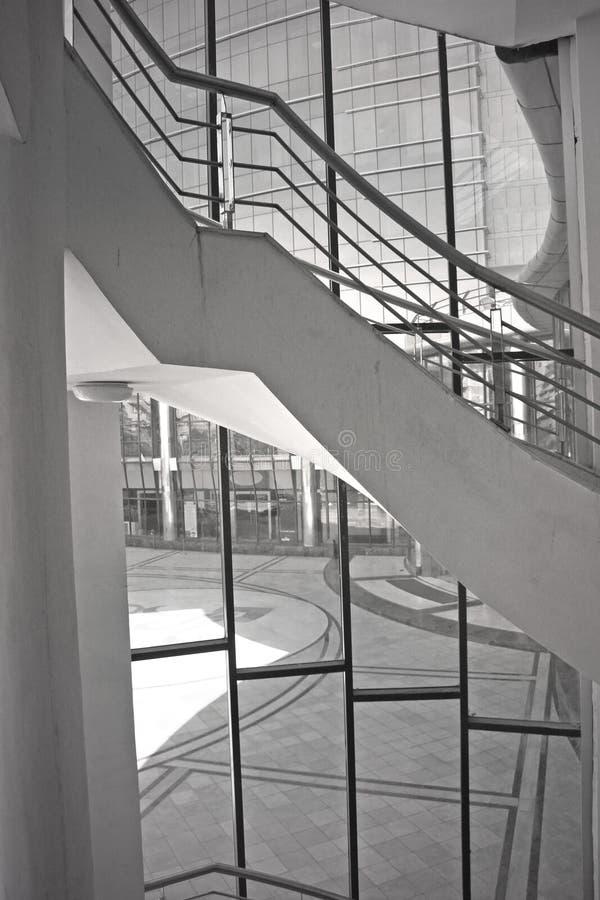 nowoczesna architektura schody zdjęcia stock