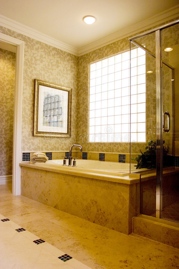 nowoczesna do łazienki zdjęcia stock