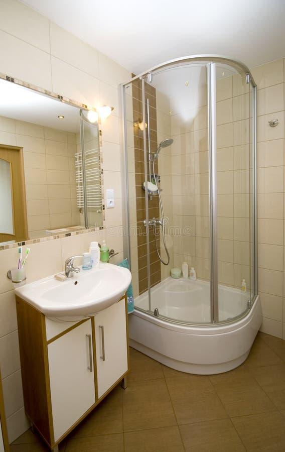 nowoczesna kabiny prysznic zdjęcia stock