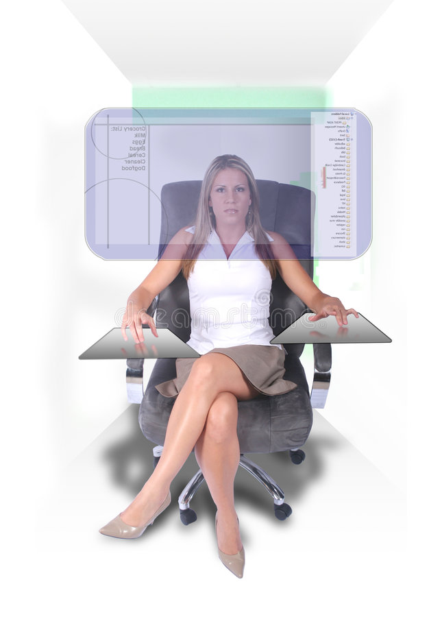 nowoczesna kobieta jednostek gospodarczych obrazy stock