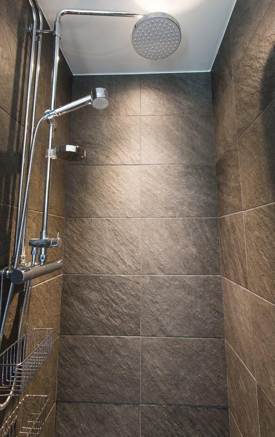 nowoczesna prysznic zdjęcie stock