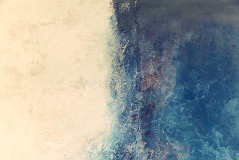 nowoczesna sztuka Dzisiejsza ustawa Artystyczna ścienna farba obraz royalty free