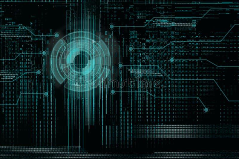 nowoczesna technologia ilustracja wektor