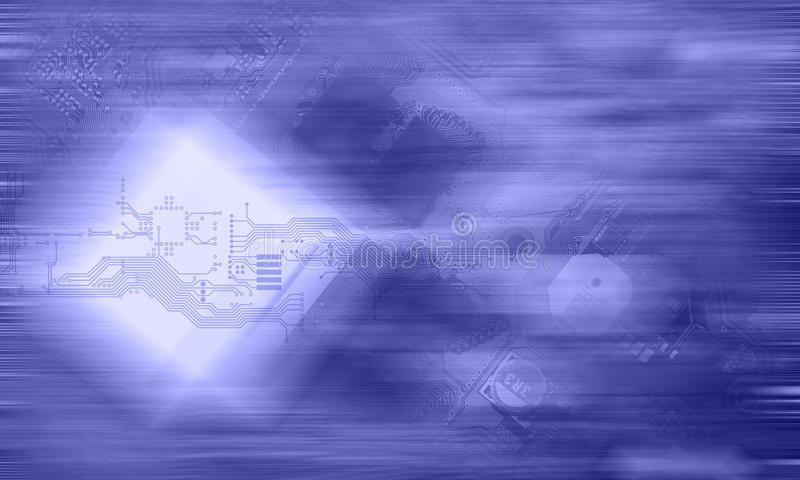 Nowoczesna technologia pojęcie zdjęcie royalty free