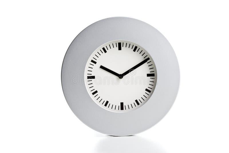 nowoczesna zegara silve ściany obraz royalty free