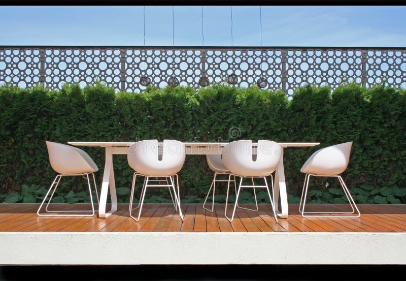 nowoczesne balkon. obraz royalty free