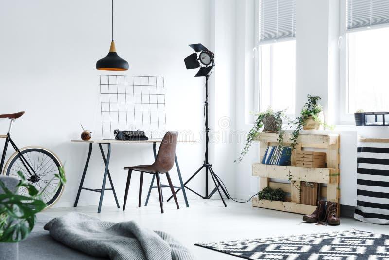 nowoczesne biura do domu obraz stock