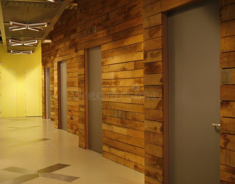 nowoczesne biuro korytarza obrazy royalty free