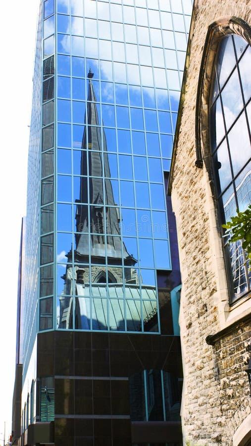 nowoczesne budynku kościoła obrazy royalty free