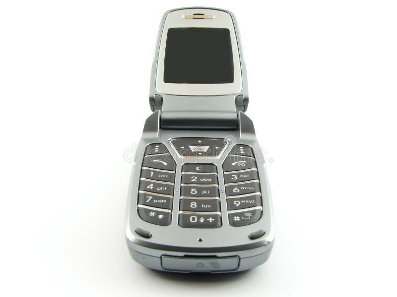 nowoczesne clamshell telefon obraz royalty free