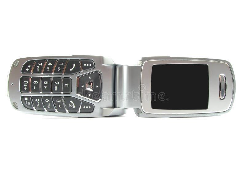 nowoczesne clamshell telefon zdjęcia royalty free
