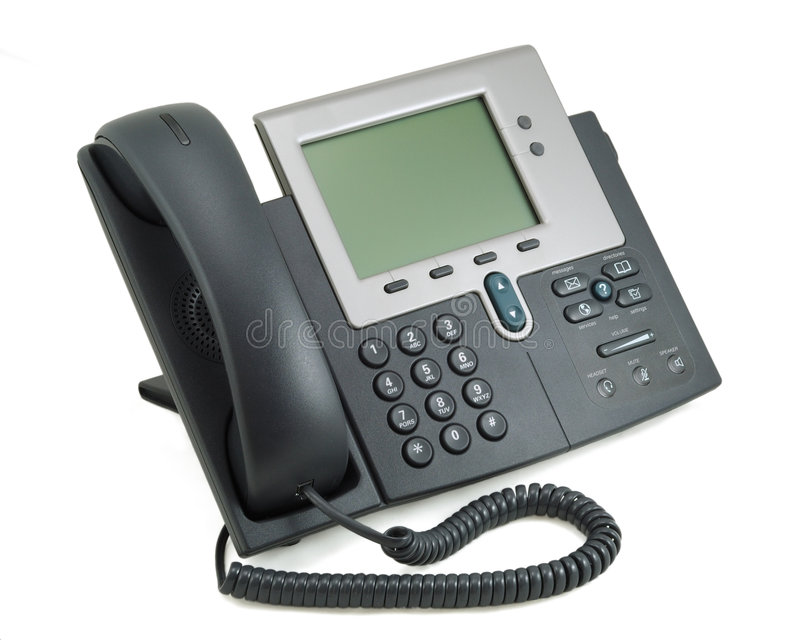 nowoczesne cyfrowego telefon obraz royalty free