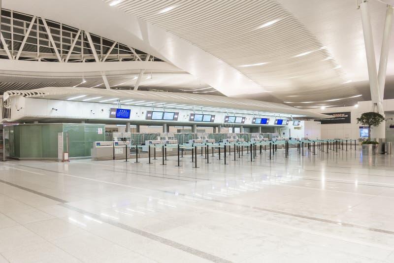 nowoczesne lotnisko zdjęcia stock