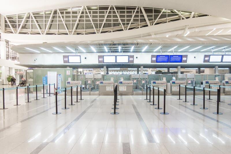 nowoczesne lotnisko fotografia royalty free