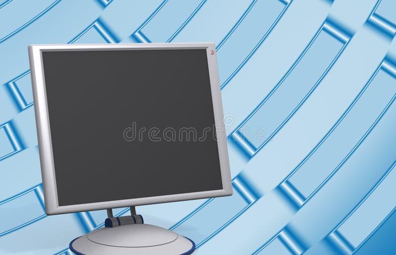 nowoczesne monitor ilustracja wektor