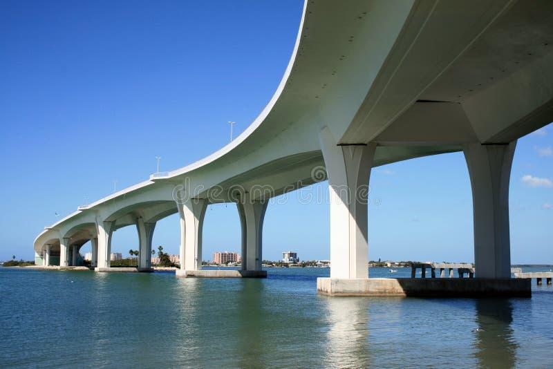nowoczesne mostu obraz stock