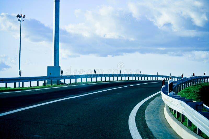 nowoczesne nowego autostrady fotografia stock