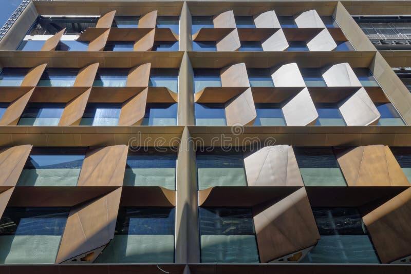 nowoczesne okna zbudować obraz royalty free
