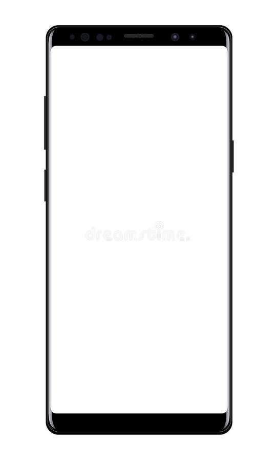 nowoczesne smartphone ilustracja wektor