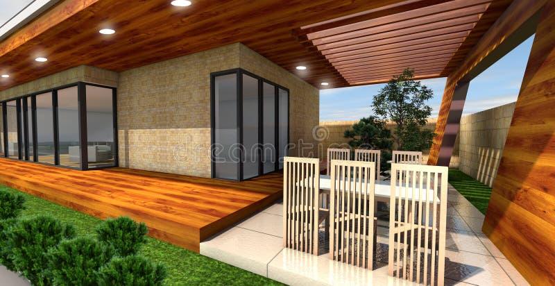 nowoczesne w domu ilustracja wektor