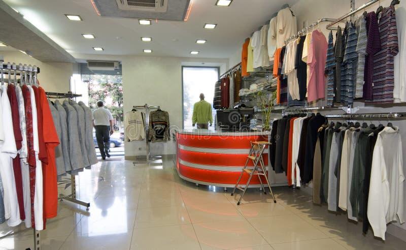 nowoczesne wewnętrznego sklepu obrazy royalty free