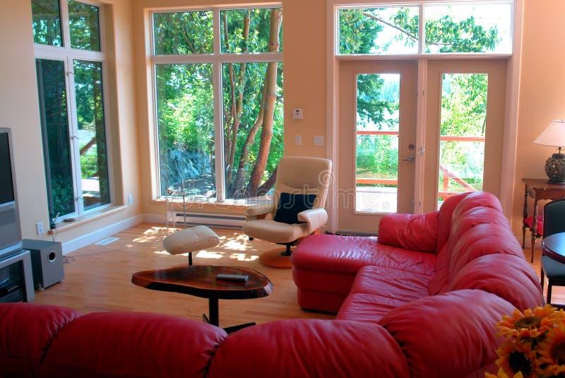 nowoczesne wewnętrznego w domu zdjęcie stock