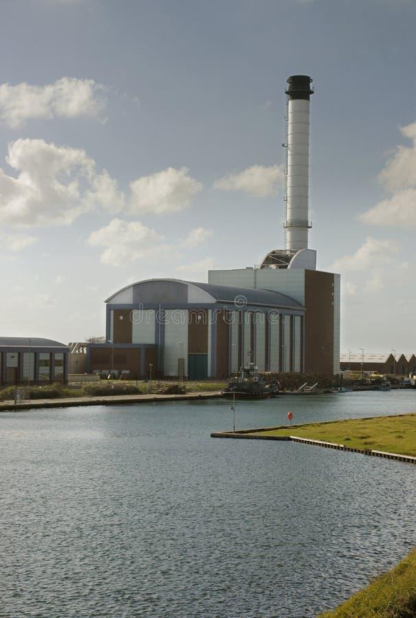 nowoczesnej elektrowni obrazy royalty free