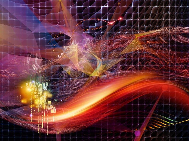 Nowoczesny świat wirtualny ilustracja wektor