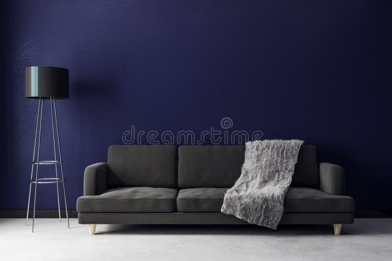 nowoczesny pokój żyje zdjęcia stock