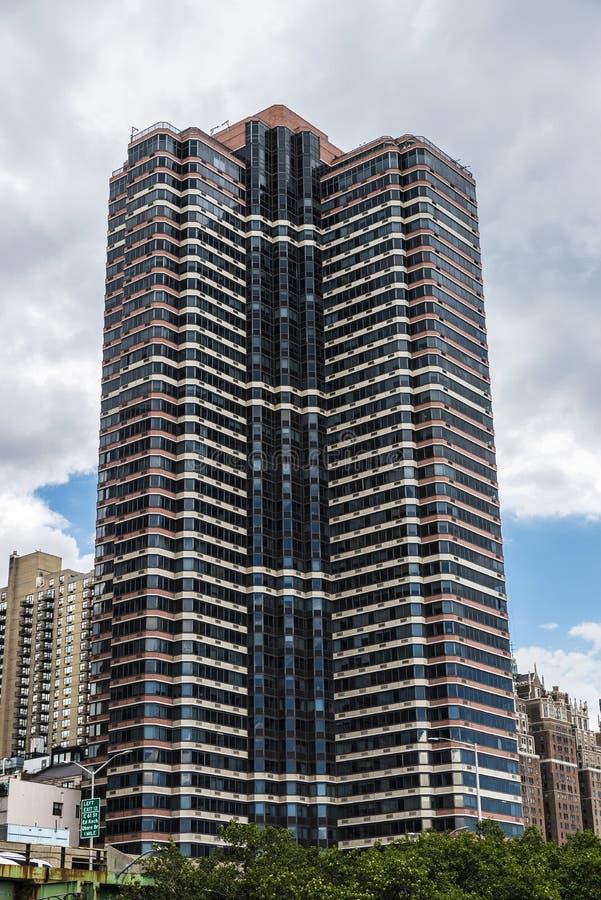 Nowoczesny wieżowiec na Manhattanie, Nowy Jork, Stany Zjednoczone Ameryki zdjęcia stock