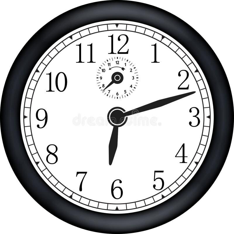nowoczesny zegar ilustracji