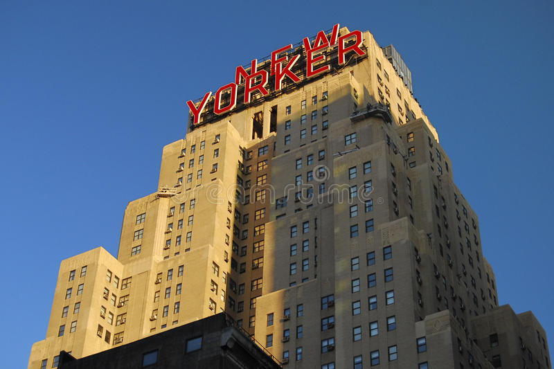Nowojorczyka hotel, Nowy Jork fotografia royalty free