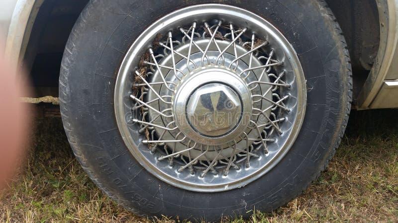 Nowojorczyka hubcap zdjęcie stock
