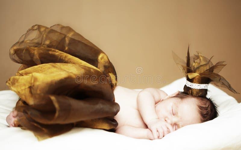 Nowonarodzona dziewczynka zdjęcie royalty free