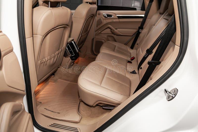 Nowosibirsk, Russland am 22. Juni 2019: Porsche Cayenne stockbild