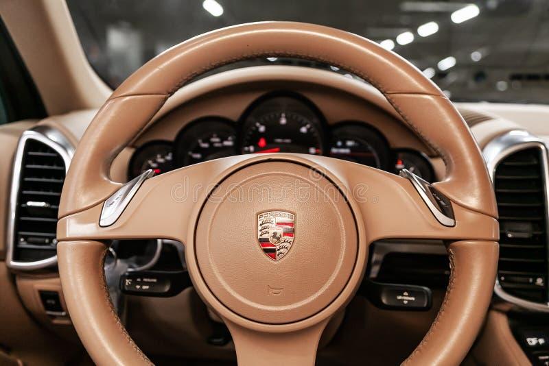 Nowosibirsk, Russland am 22. Juni 2019: Porsche Cayenne stockfoto