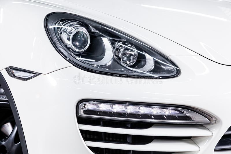 Nowosibirsk, Russland am 22. Juni 2019: Porsche Cayenne stockfotos