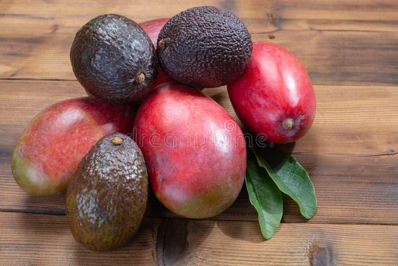 Nowy żniwo zdrowi owoc i warzywo, tropikalny organicznie r fotografia stock