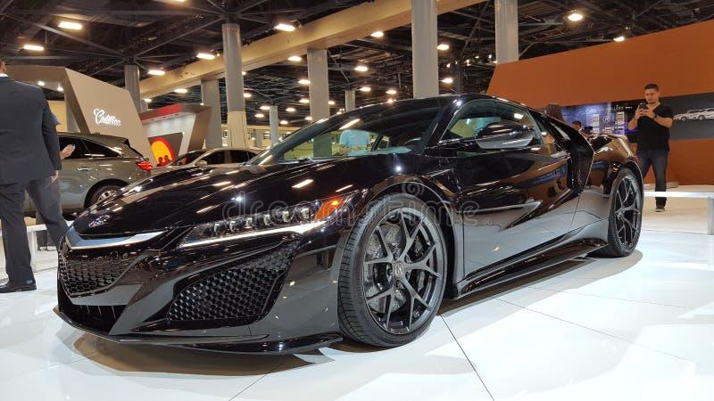 Nowy Acura NSX zdjęcia stock