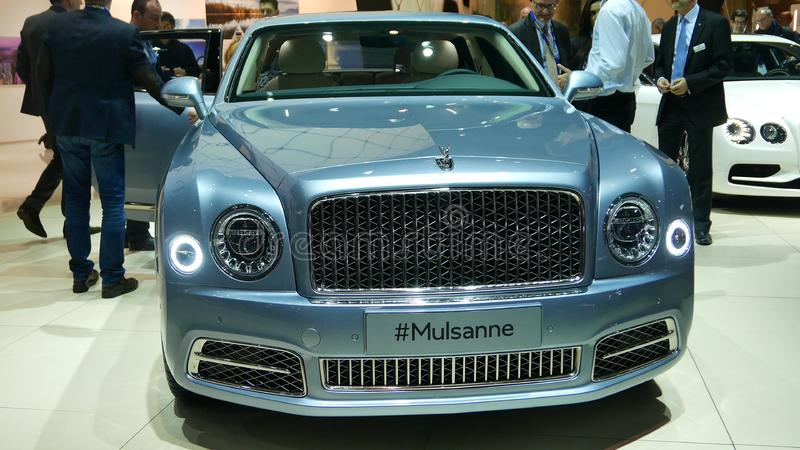 Nowy Bentley Mulsanne obraz stock